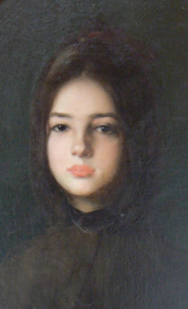 Portrait of Maria Nacu, Nicolae Grigorescu