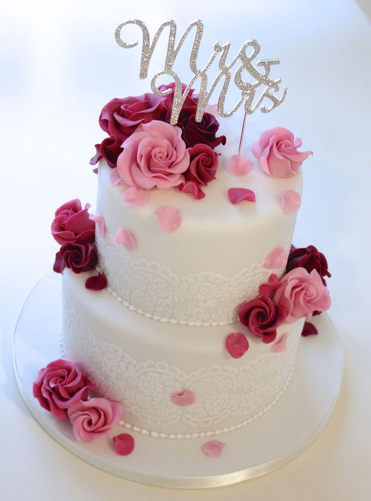 Pastel de bodas www.diezuckerbaec …