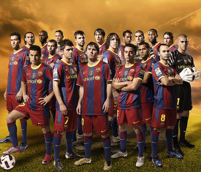 barca. my team for life. mes que un club.