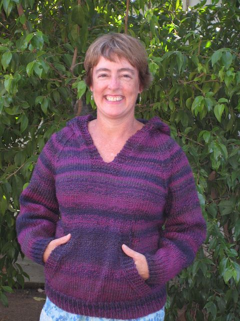 Wonderful Wallaby sweater -- I am currently working on my 5th one -- which will be the second (third?) one for my daughter :)