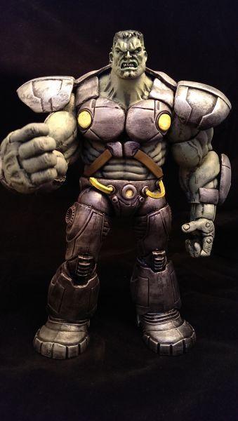 Indestructible Hulk - Marvel Now (Marvel Legends) Custom Action Figure by Wings Base figure: Gamma Punch Hulk