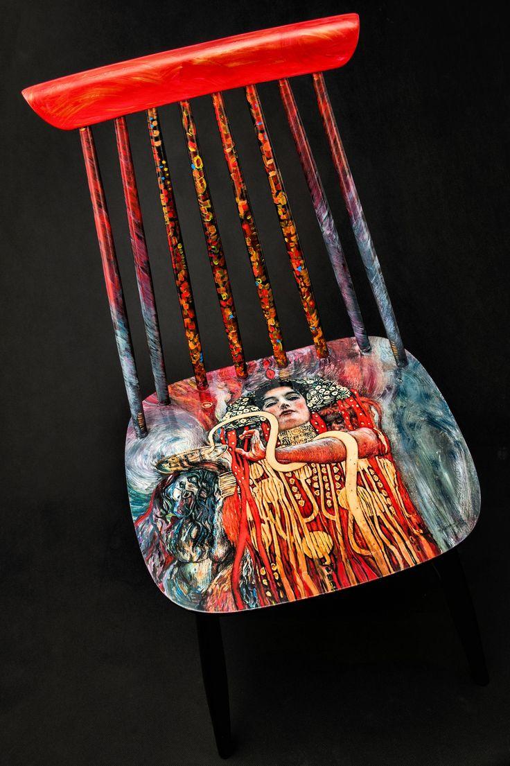krzesło Klimt