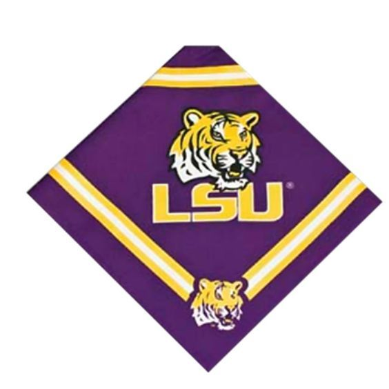 Dog Bandana - Louisiana State University >>> To view further for this item, visit the image link.