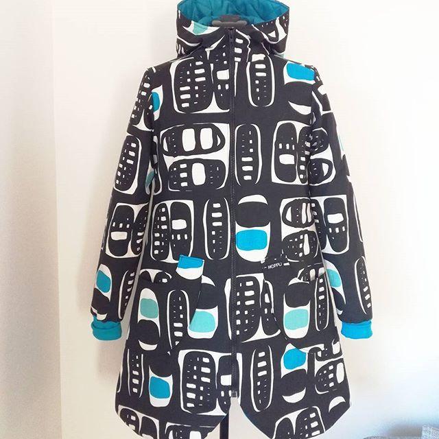 Size 36, 165€. #hoppudesign #ethicalfashion #recycledmaterials #sustainablestyle #ecofashion #eettinenmuoti #slowfashion #eurokangas