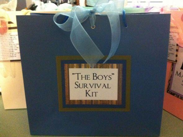 Bridesmaid Survival Kits :  wedding bridesmaids diy kits survival Groom And Groomsmens Kit