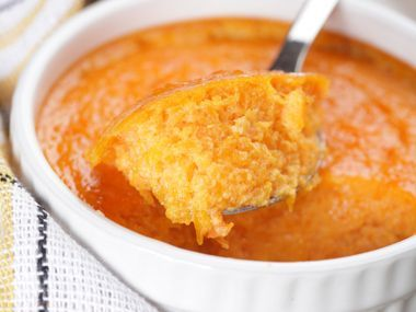Sweet Potato Souffle Recipe | Boston - DailyCandy. I've been looking for a recipe like this for a while