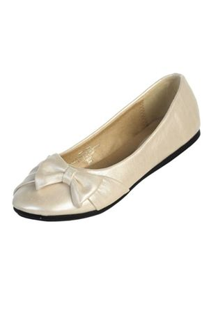 The 8 best flower girl shoes images on pinterest flower girl shoes flower girl flats with darling bow off to the side ideal for skipping down the mightylinksfo