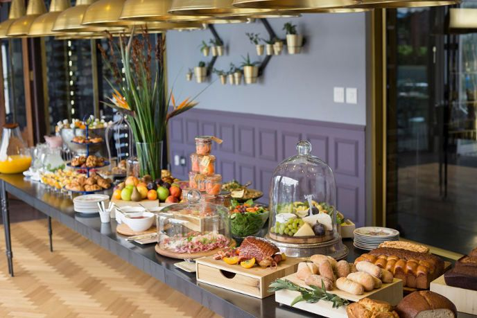 the most decadent brunch offering at Majeka House