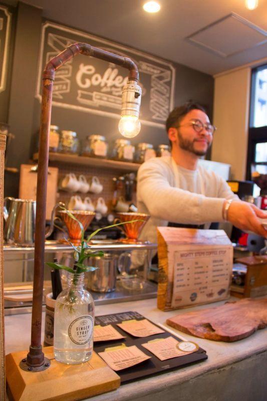下町情緒あふれる日本橋の、クラシックなコーヒースタンド『mighty step coffee』でコーヒーの淹れ方を教わってきましたvol.5