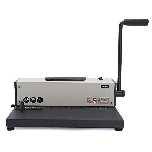 Rayson Coil Binding Machine With Electric Coil Inserter