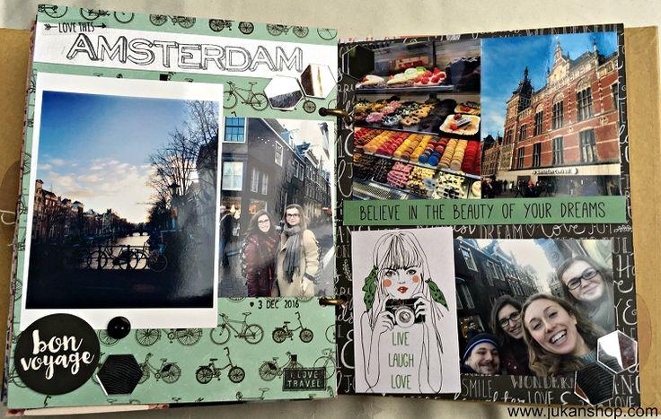 Cestovateľský album (Traveling scrapbook album)