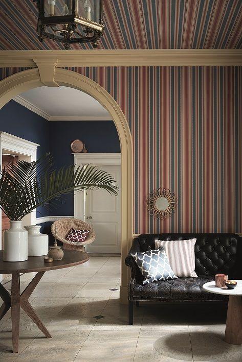 Behang Colonial Stripe Morocco van Little