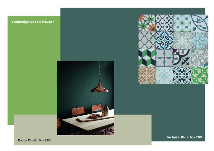 Best Farrow Ball Moodboard Inchyra Blue Yeabridge Green 640 x 480