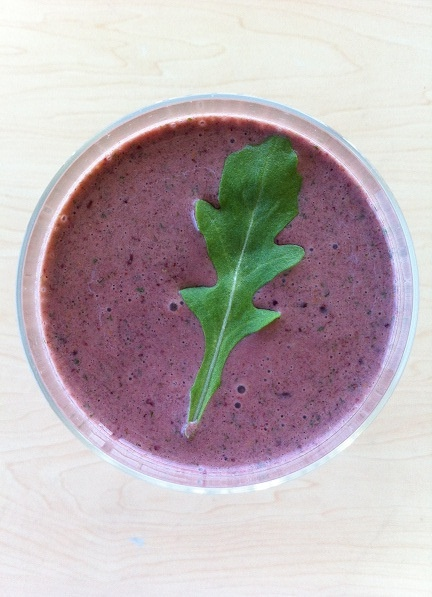 Parsley, Kale, And Berry Smoothie Recipe — Dishmaps