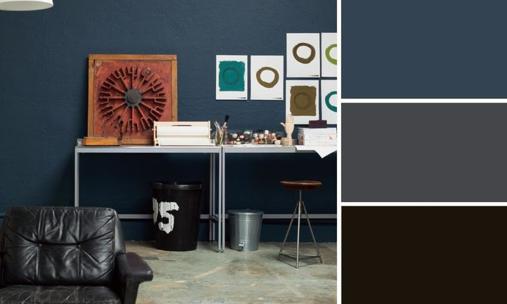 d co quelles couleurs s 39 associent avec le bleu sam. Black Bedroom Furniture Sets. Home Design Ideas