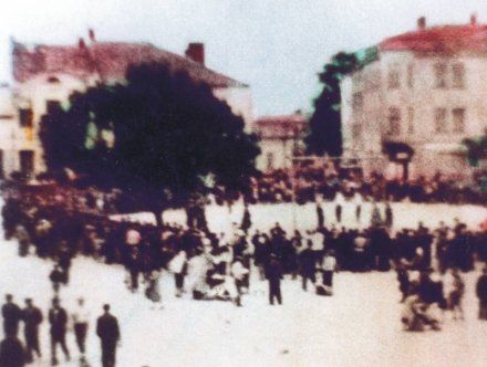 A public execution in Dębica was carried out in 1946 when three members of the Polish anti-communist Freedom and Independence (WiN) organization were publicly executed by the communist Polish authorities in the market square of Dębica in southeastern Poland.[1]