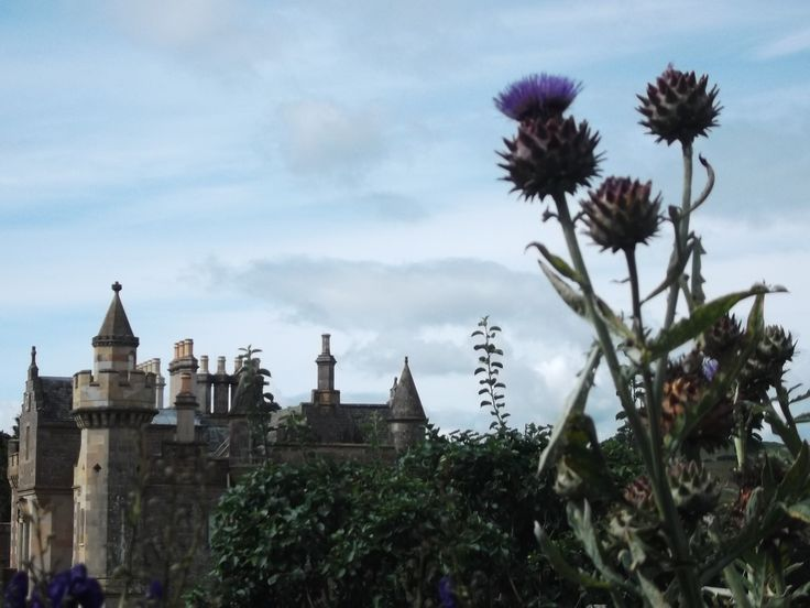Abbotsford, near Selkirk, an astonishing baronial pile created by Sir Walter Scott.