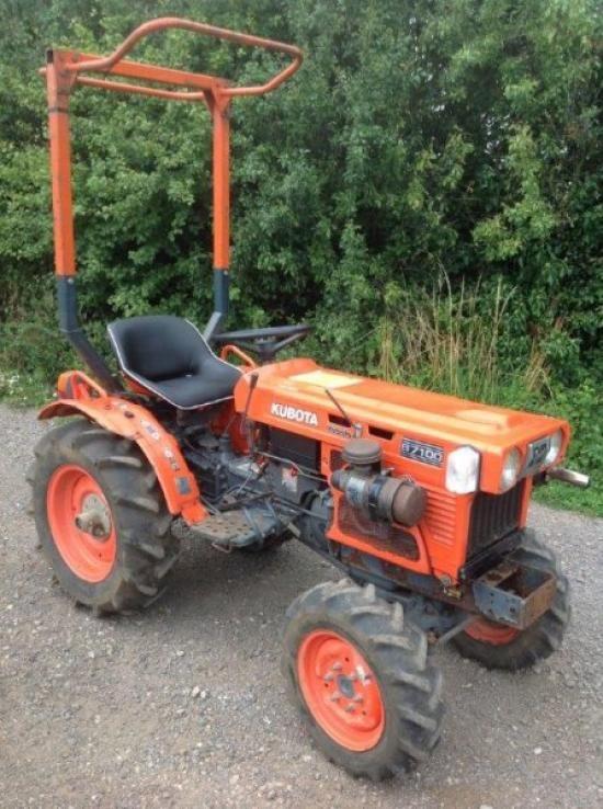 Kubota B7100 Backhoe : Best kubota images on pinterest tractors