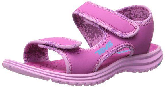 Teva Tidepool Kids Sport Sandal (Toddler/Little Kid/Big Kid), Pink/Blue, 2 M US Little Kid