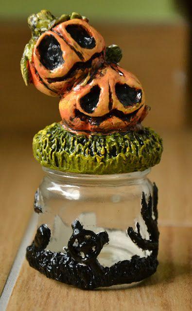 Creativity of Fià: Halloween jar