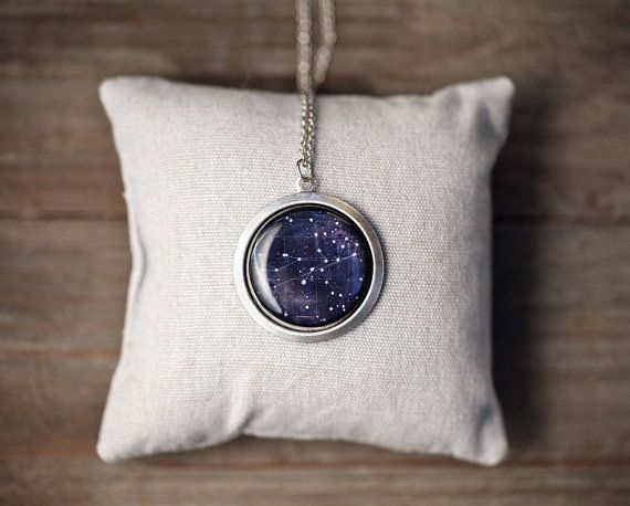 Constellation necklace - Virgo for September - Libra for October - Pick your zodiac sign