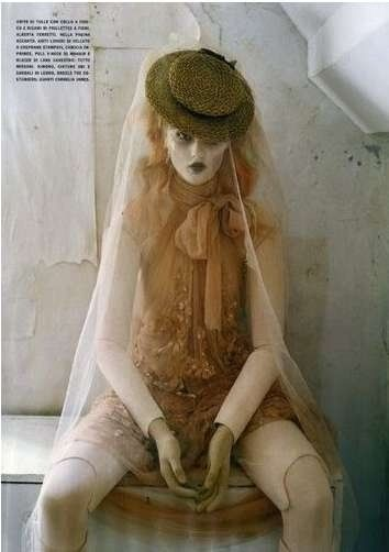 "Vogue Italia Oct. 2011  ""Mechanical Dolls"" photographed by Tim Walker"