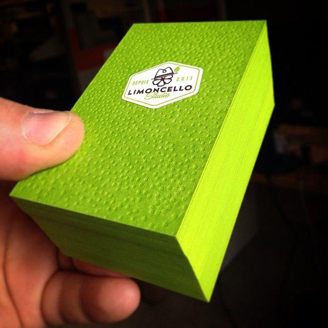 151 best business cards images on pinterest carte de visite lemon embossed business car lime citron vert pour limoncello studio printed reheart Choice Image