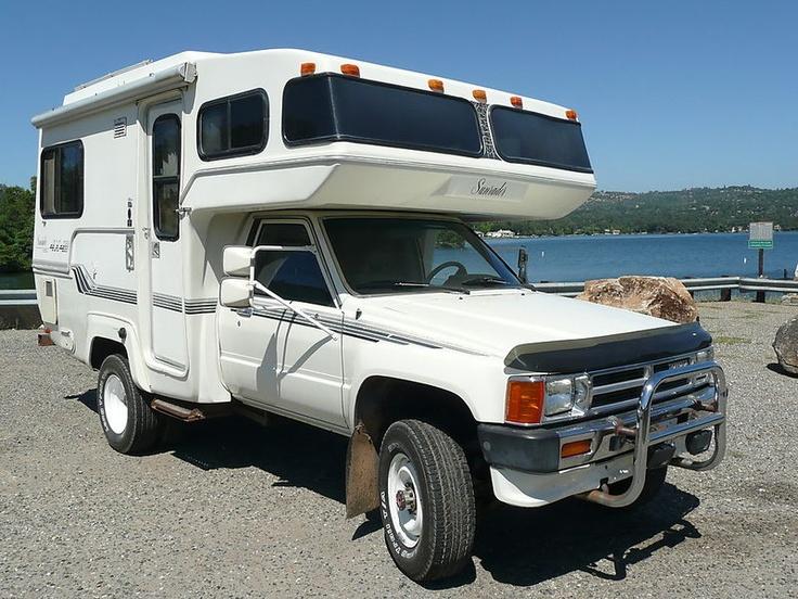 TOYOTA SUNRAIDER CAMPER | Camping | Camper, Toyota camper ...