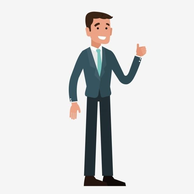 Cartoon Business Man Cartoon Clipart Business Clipart Man Clipart Png And Vector With Transparent Background For Free Download Man Clipart Person Cartoon Business Cartoons