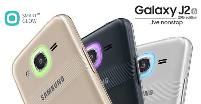 Samsung Launches Galaxy J2 2016 with Smart Glow and Turbo Speed @ http://www.ispyprice.com/mobiles/6604-samsung-galaxy-j2-2016-price-list-india/