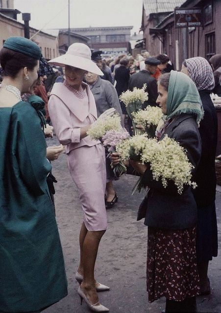 Dior in Moscow 1958: