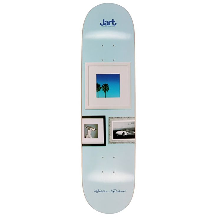 "Jart Wall Bulard Pro Skateboard Deck - 8"""
