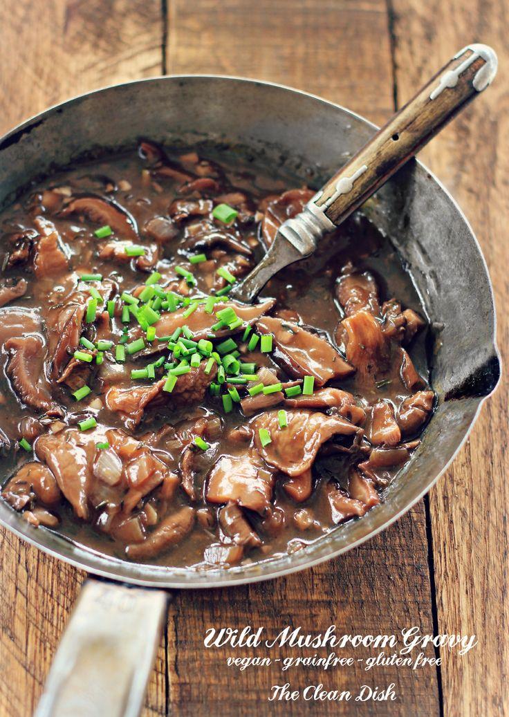 Wild Mushroom Gravy with Red Wine (vegan, grain free ...