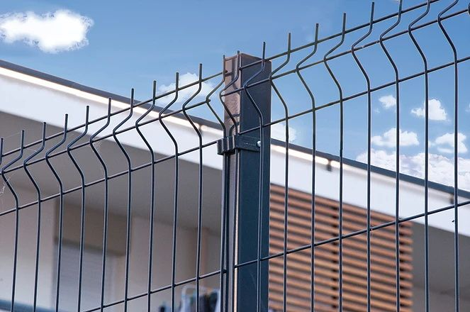 2x2 Welded Wire Mesh Fence Panels In 6 Gauge With Images