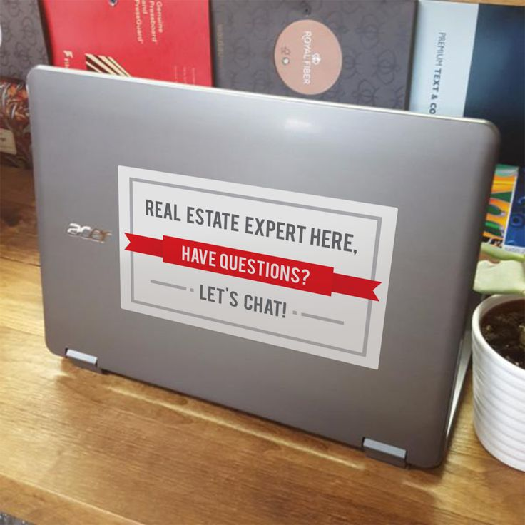 Best Open House Images On Pinterest Real Estate Gifts Real - Vinyl stickers for marketing