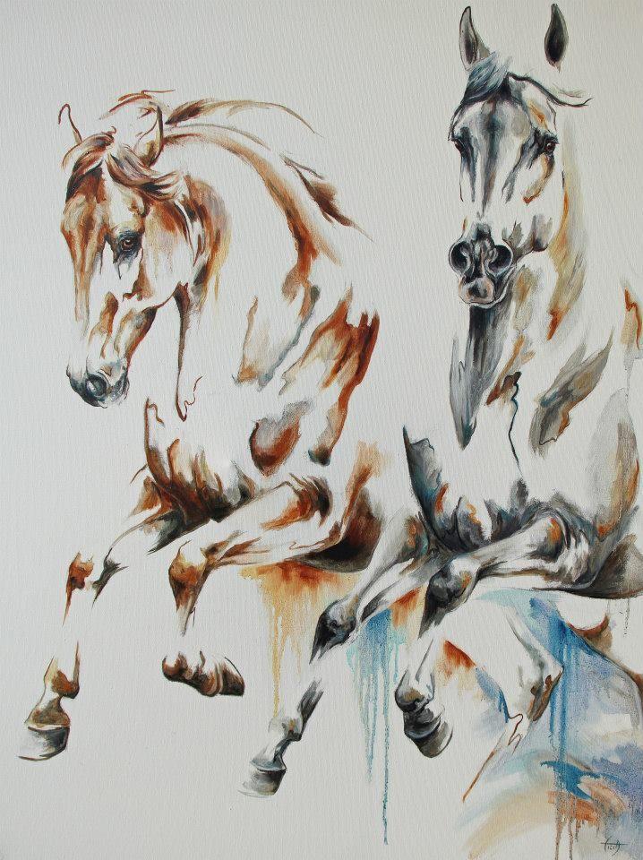 Unitamente - Laetitia PLINGUET Oil on canvas www.articia.fr