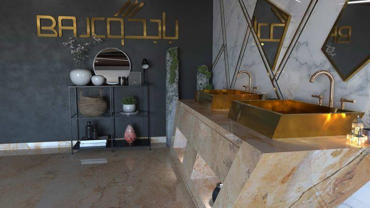 مغاسل رخام فخمه من الرخام الطبيعي Marble Bathtub