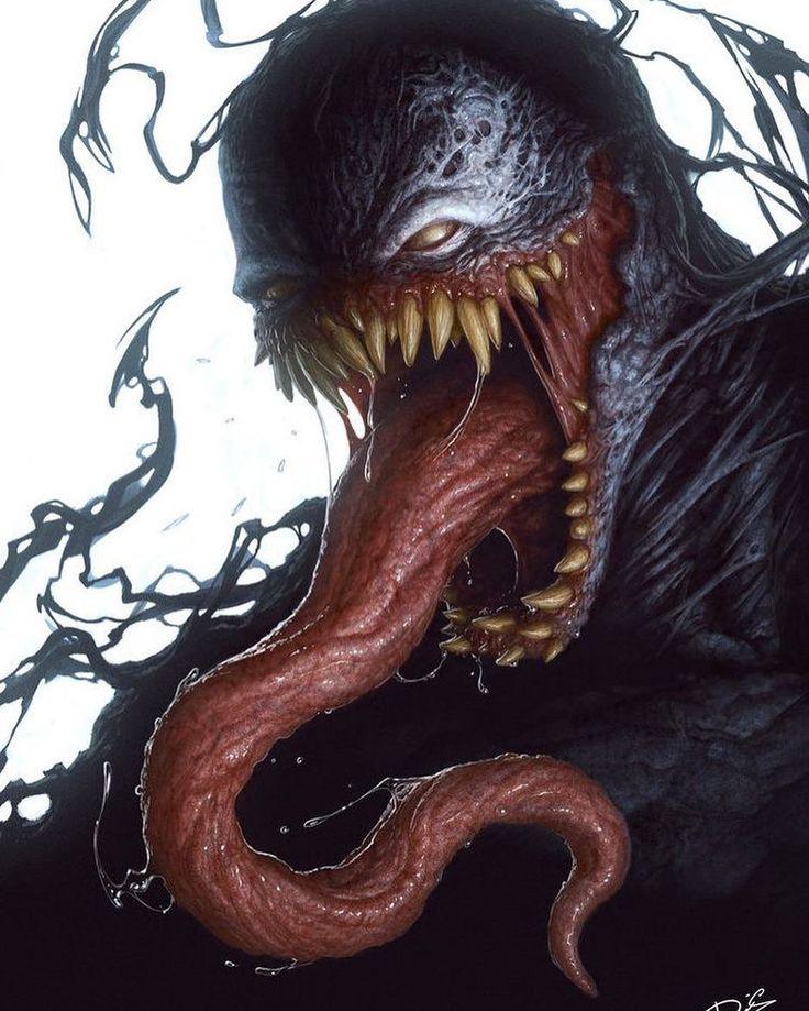 Venom!! Art by @dctattoo_swe  #Venom #Symbiote #Marvel #MarvelComics #Comics #ConceptArt #Art #Art #Villain --------------------------------------------------- #love #instagood #photooftheday #tbt #beautiful #cute #me #happy #fashion #followme #follow #selfie #picoftheday #summer #friends