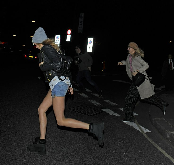 Cara Delevingne and Suki Waterhouse out in London - 26/04/2014