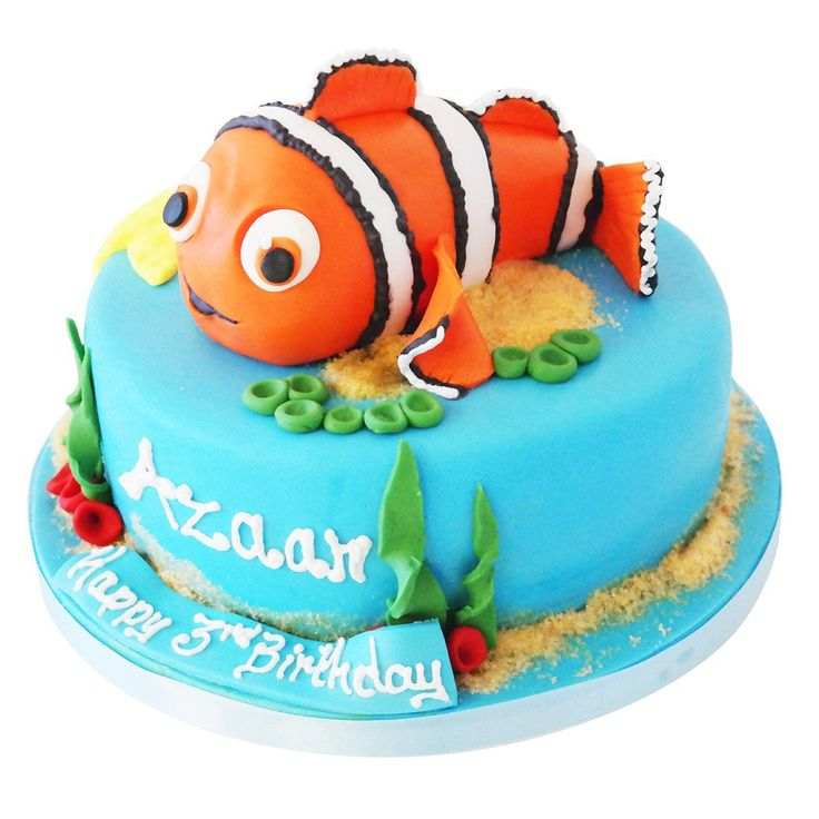 Best  Finding Nemo Online Ideas On Pinterest Finding Nemo - Nemo fish birthday cake