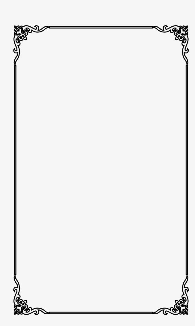 Elegante Moldura Vetor Material Quadro Clipart Criativo Elegante Strip Imagem Png E Psd Para Download Gratuito Molduras Vetor Arabescos Vetor Arabesco Moldura