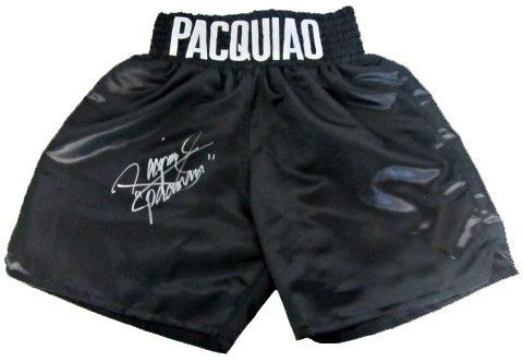 Manny Pacman Pacquiao Signed PSA/DNA Boxing Trunks-Official @ niftywarehouse.com