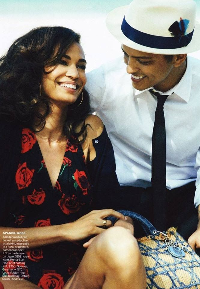 Bruno Mars  his mom. She passed away in June of this year from a brain aneurysm. How he is coping with her death.