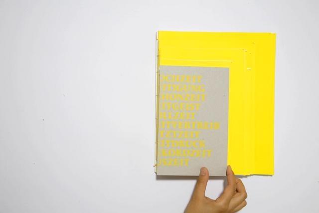 Zeit-Wörter by Nina Fischer