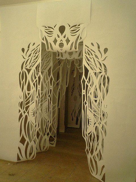 papercut tunnel... :)