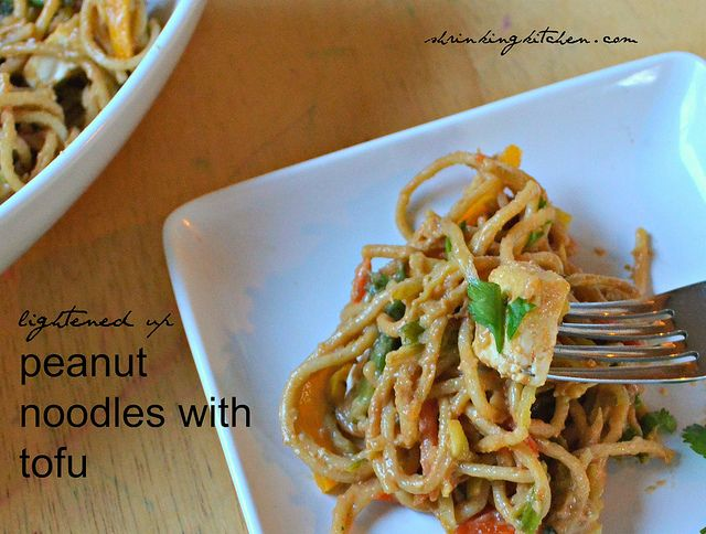 lightened up peanut noodles with tofu pb2 recipes recipes pasta best ...