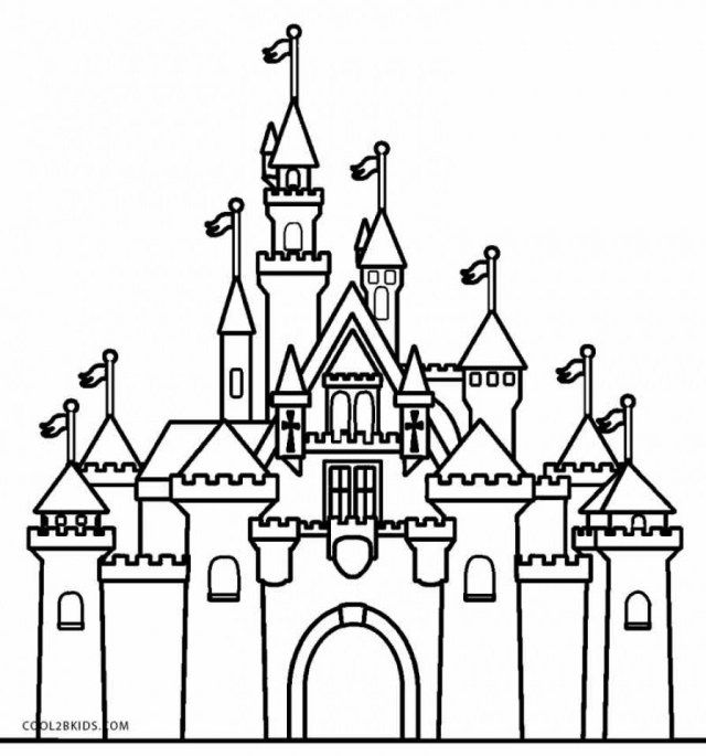 30 Awesome Picture Of Castle Coloring Pages Albanysinsanity Com Castle Coloring Page Disney Castle Drawing Disney Castle