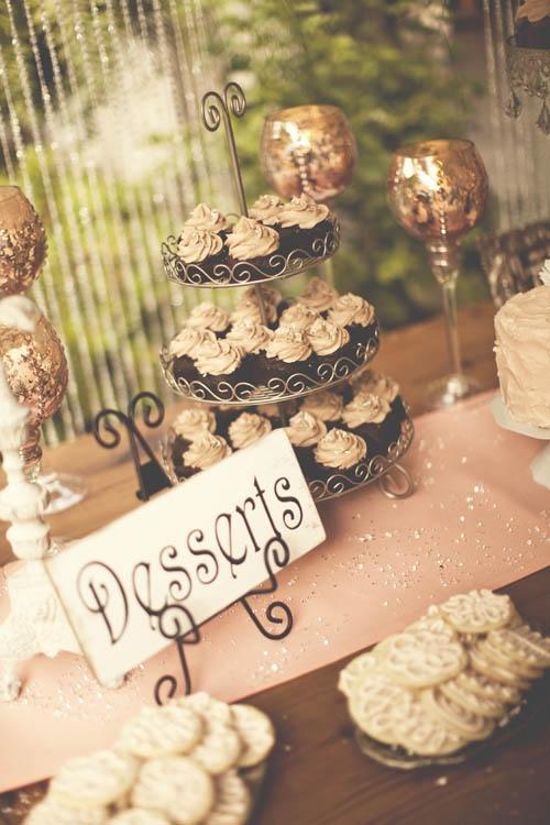 wedding venue, dessert table, wedding cake, wedding reception