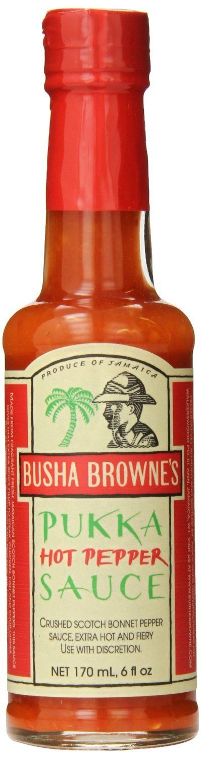 Busha Brownes Pukka Hot Pepper Sauce