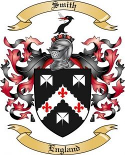 Smith Family Coat of Arms from England
